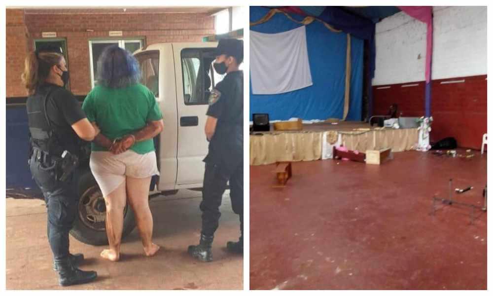 Argentina: feminista ocasionó destrozos en iglesia evangélica