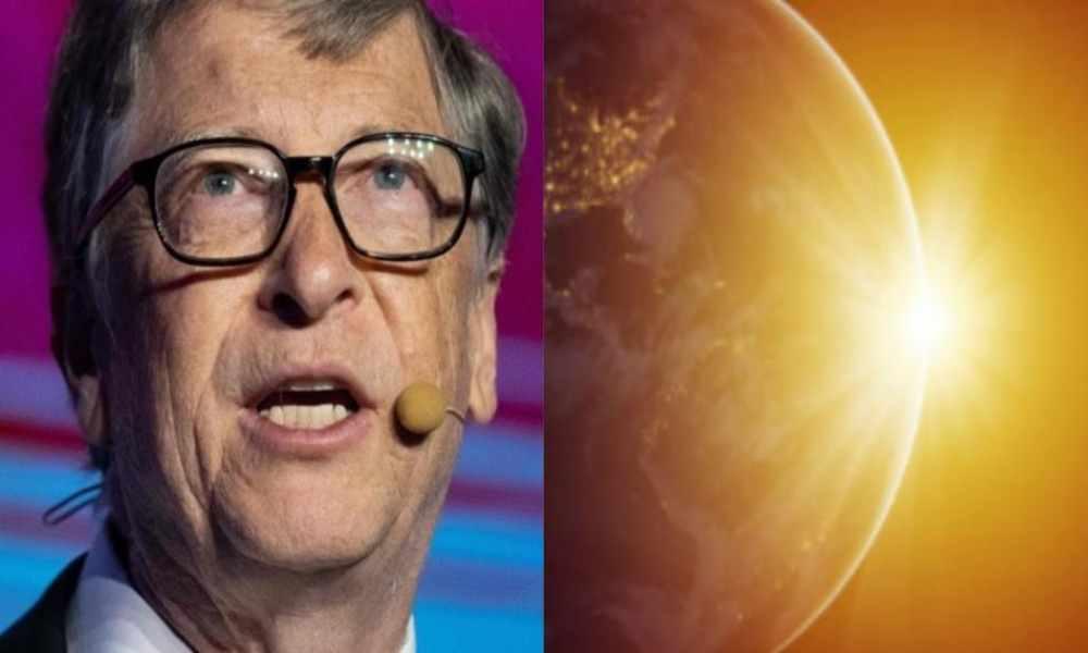 Bill Gates planea tapar el sol para que la Tierra se enfríe