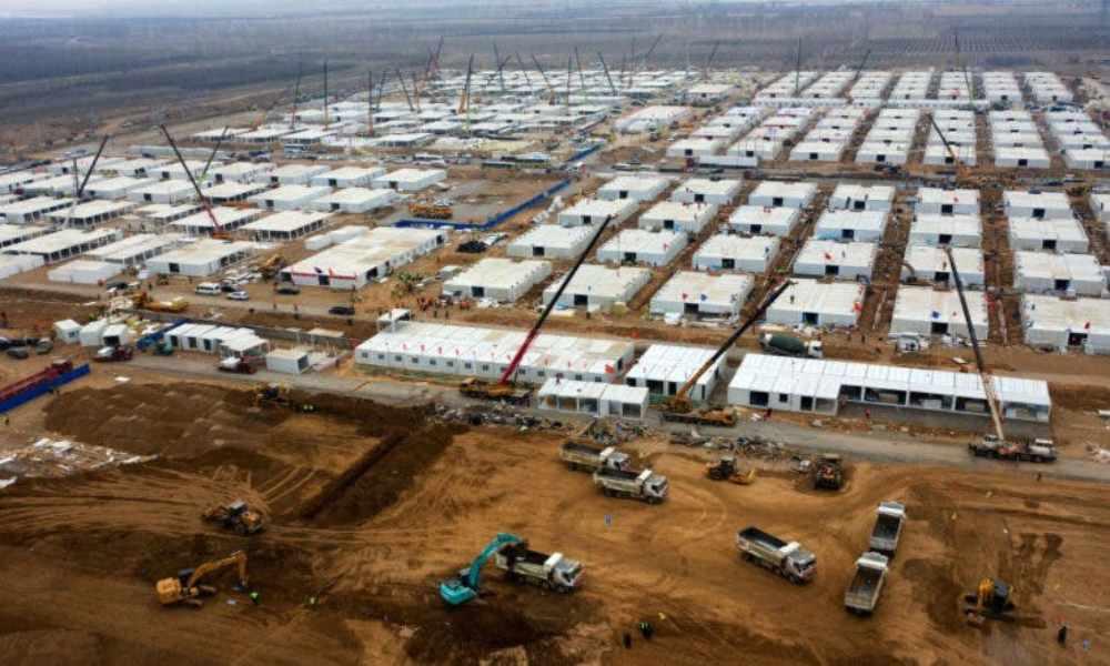 Campo de cuarentena en China refugiará a más de 4 mil personas