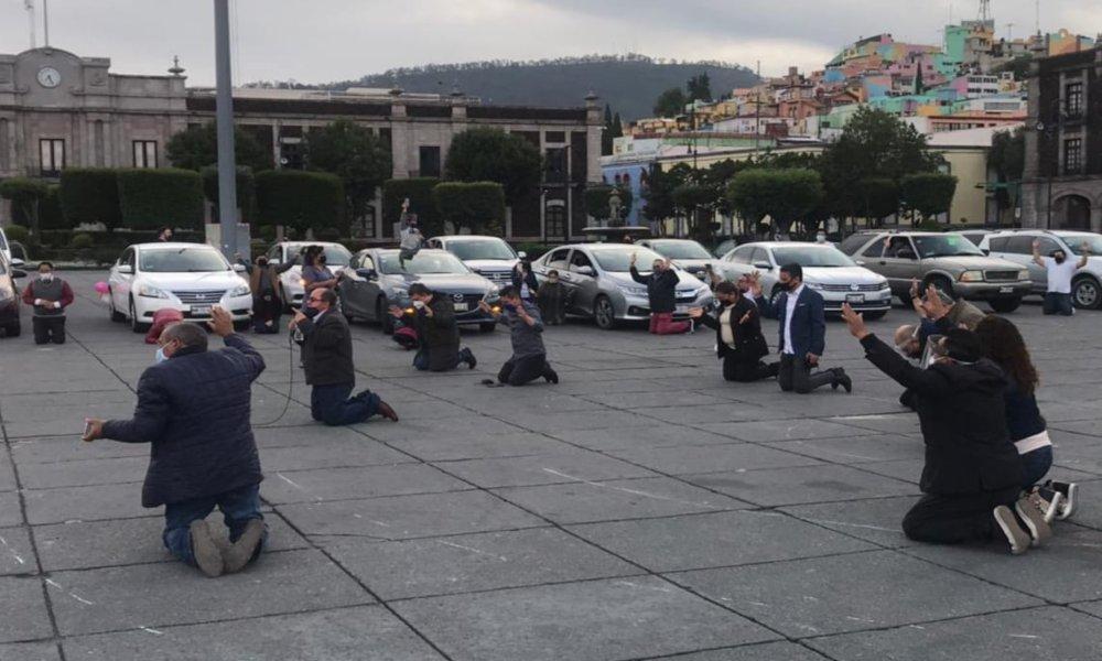 Caravana de oración por la paz y sanidad en Colima, México