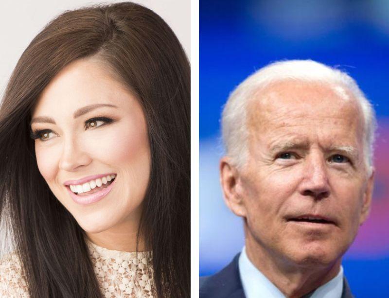 """""""Cuando no sepas qué hacer, pregúntale a Dios"""", dice cantante a Biden"""