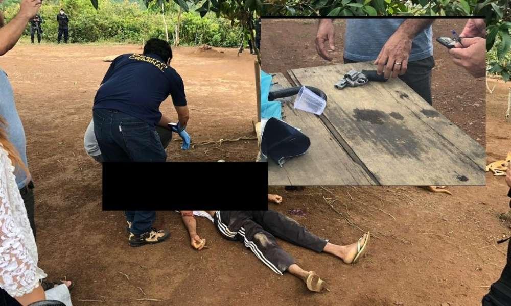 Hombre intenta matar a pastor cuando oraba y termina siendo asesinado por policía