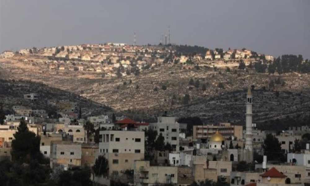 Israel planea construir 800 casas para colonos en Cisjordania