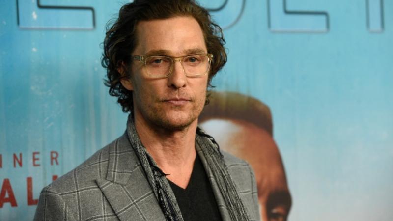 Matthew McConaughey afirma que ir a la iglesia le permite estar firme