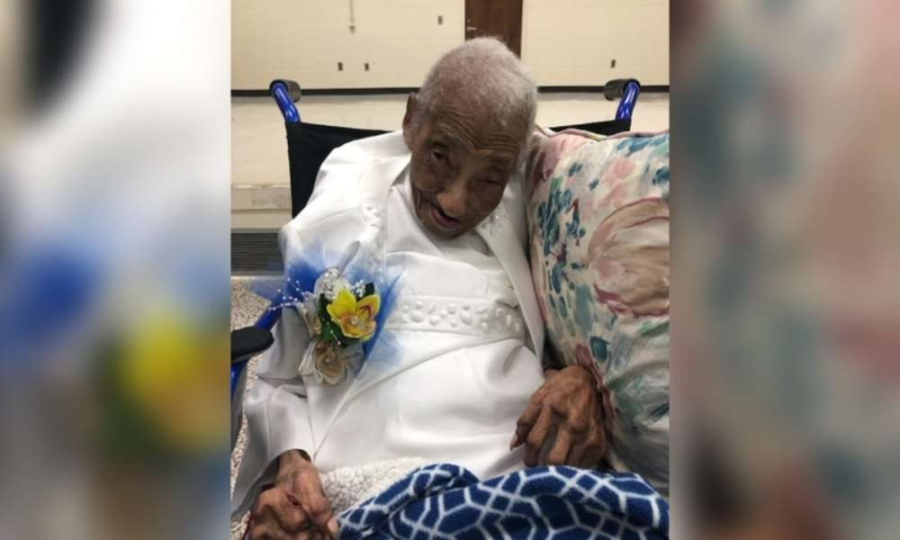 """Mujer de 106 años: """"La fe en Dios es el secreto de una larga vida"""""""