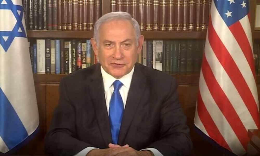 Netanyahu le pide a Dios que bendiga a EU tras posesión de Biden