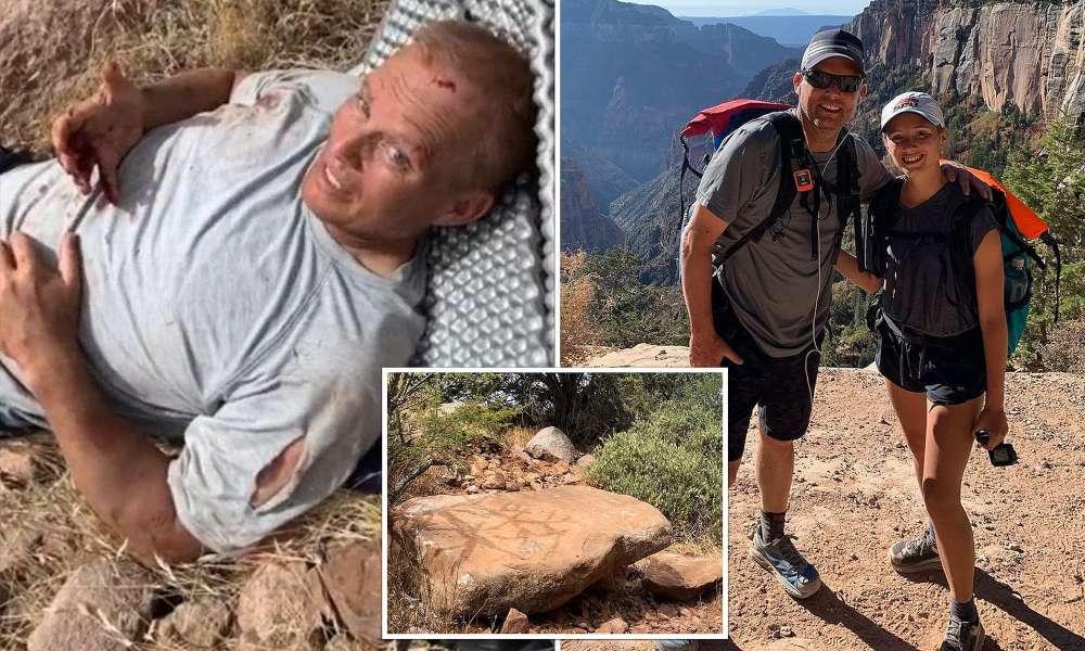 Pastor glorifica a Dios tras escapar de ser aplastado por una roca gigante
