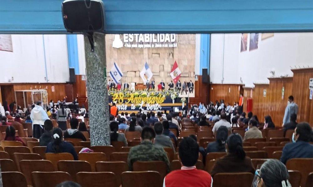 Perú: Intervienen iglesia evangélica por no acatar medidas sanitarias