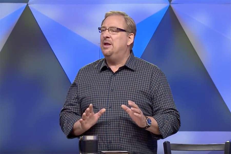 Rick Warren: 'Cuando las cosas van mal, entonces volvemos a Dios'