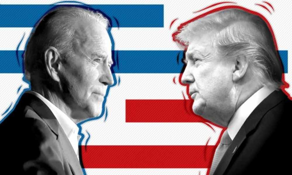 Trump asegura no estar dispuesto a cederle el poder a Joe Biden