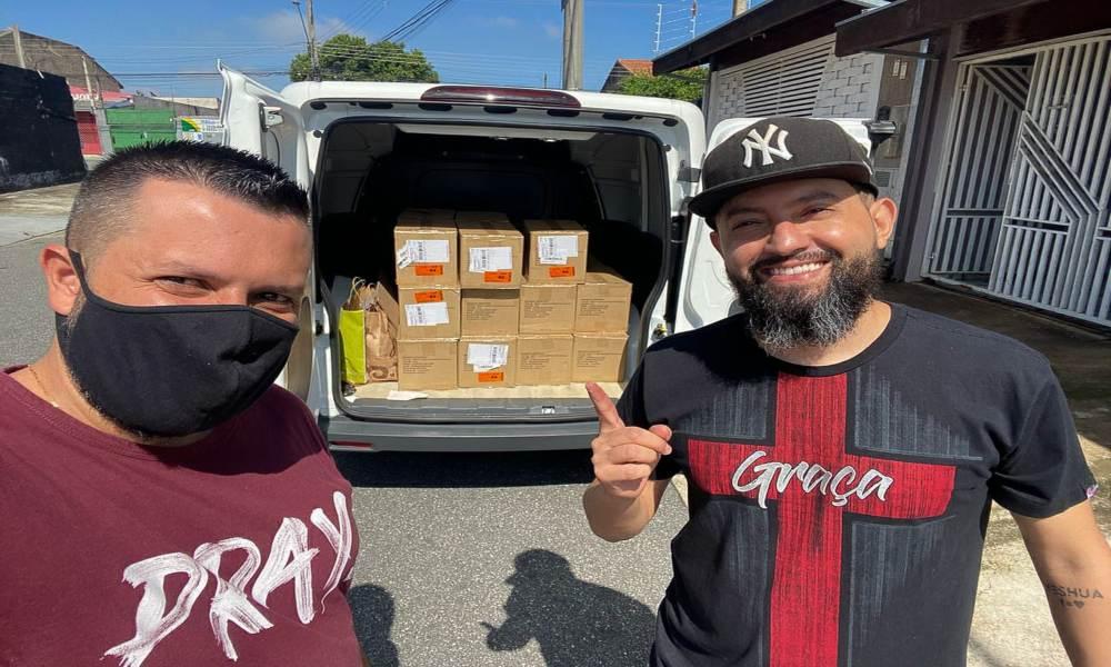 Un proyecto evangelizador distribuye 700 Biblias en Sao Paulo