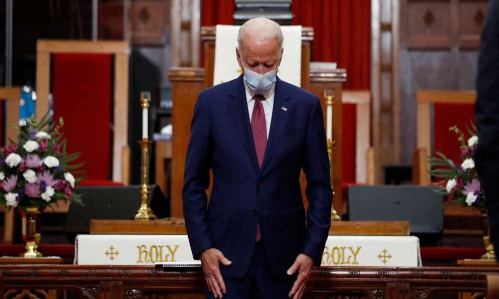 """Joe Biden: """"No falto a misa y la oración me da esperanza y me centra"""""""