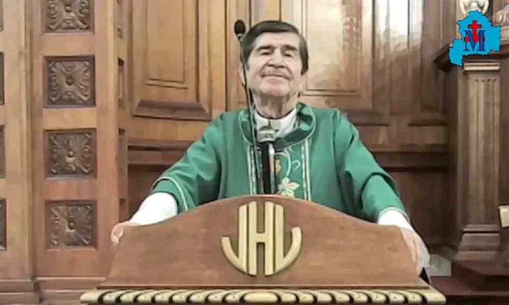 Obispo asegura que usar tapabocas significa no tener fe en Dios