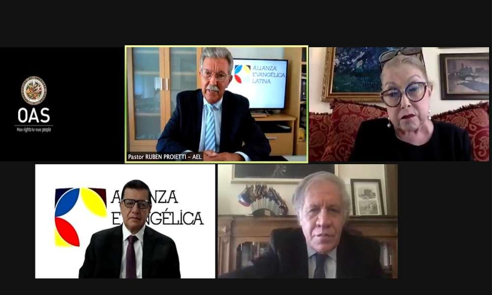 Alianza Evangélica Latina y OEA impulsarán libertad religiosa en América