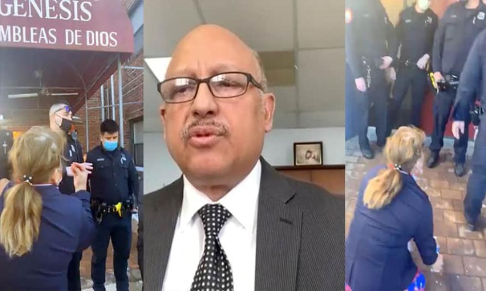 Altercado por el cambio de un pastor requirió intervención policial