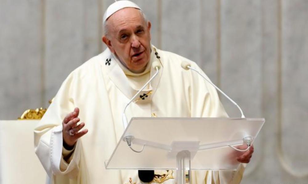 El Papa Francisco está a favor de un nuevo orden mundial