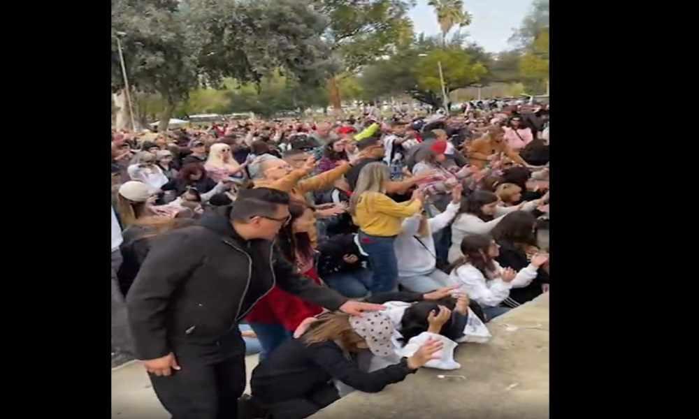 California: cientos oraron y adoraron en la gira de avivamiento de Feucht