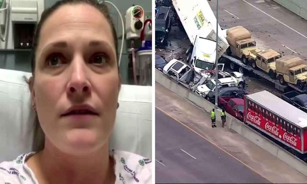 Enfermera glorifica a Dios tras escapar de grave accidente