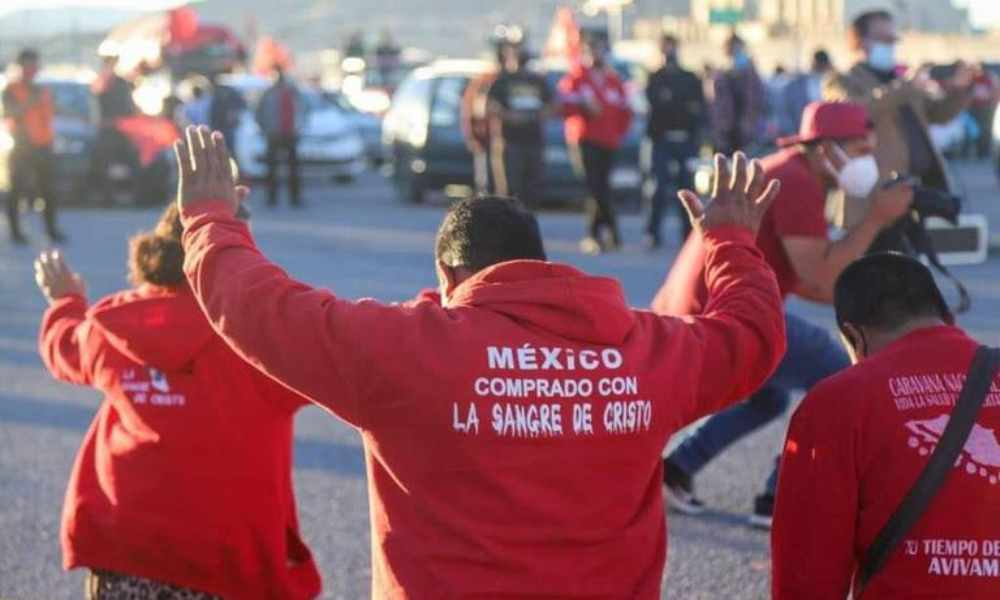 México: Iglesias cristianas realizaron caravana de oración por la vida