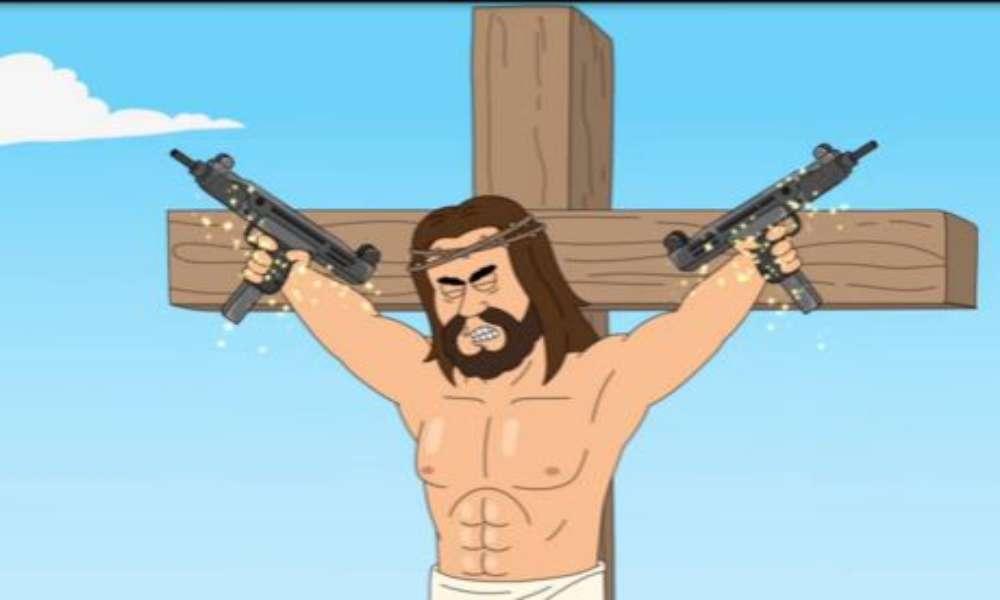 Netflix se burla de Jesús con una caricatura obscena y tiroteo masivo