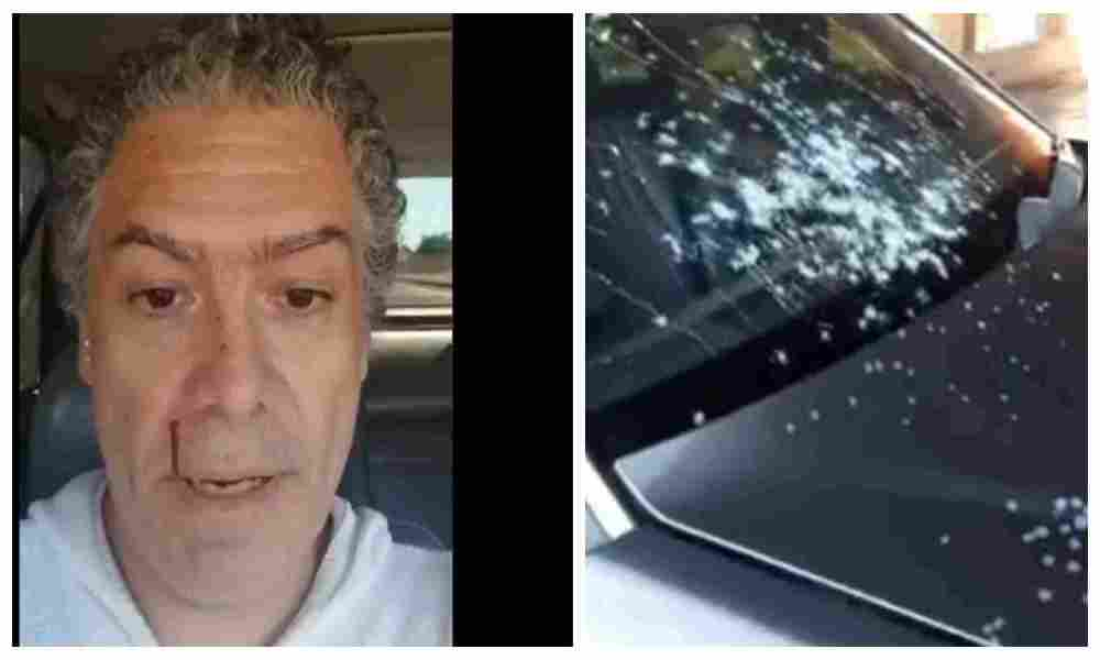 Pastor es víctima de atentado mientras se movilizaba en su auto