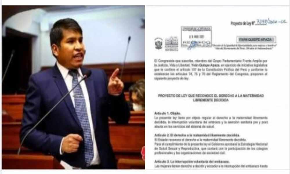 Perú: proponen ley que permite a niñas de 16 años decidir abortar