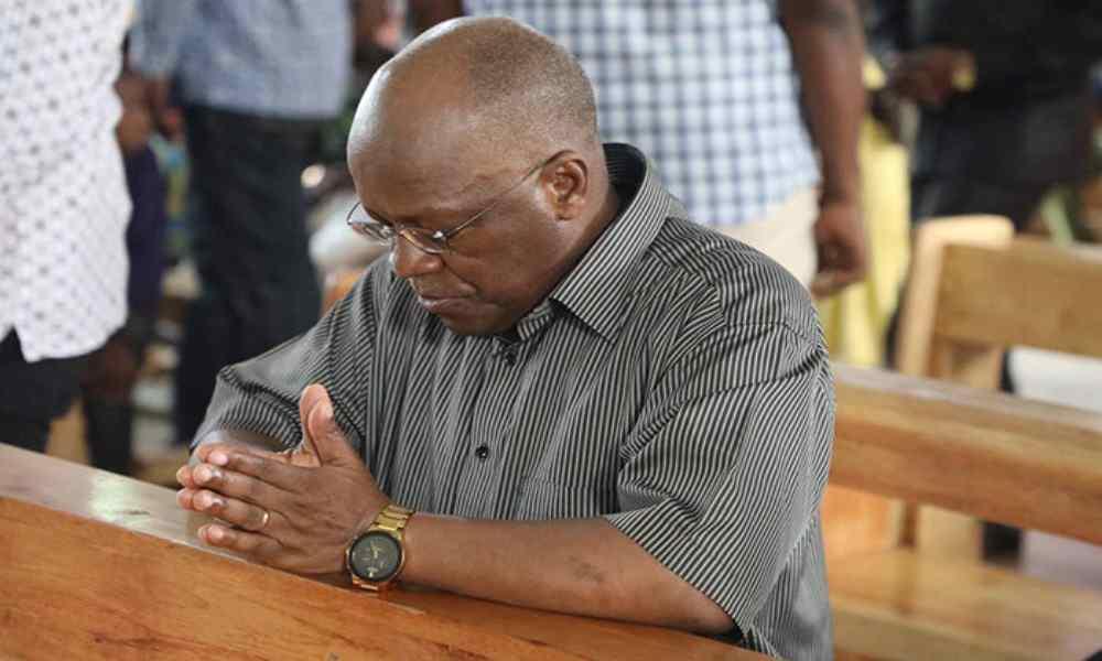 Presidente de Tanzania antes de morir instó a la oración y refugiarse en Dios