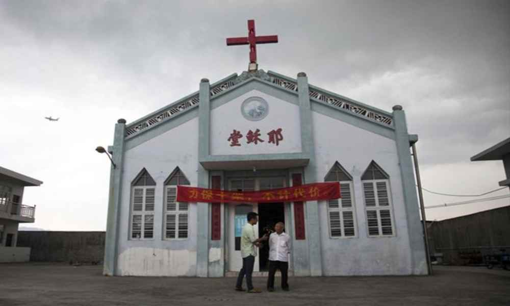 Autoridades de China ordenan la demolición de una iglesia cristiana