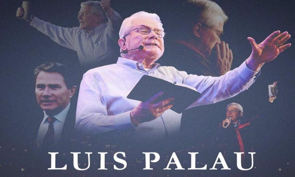 """Salmistas y pastores despiden a Luis Palau: """"Nos vemos en el cielo"""""""