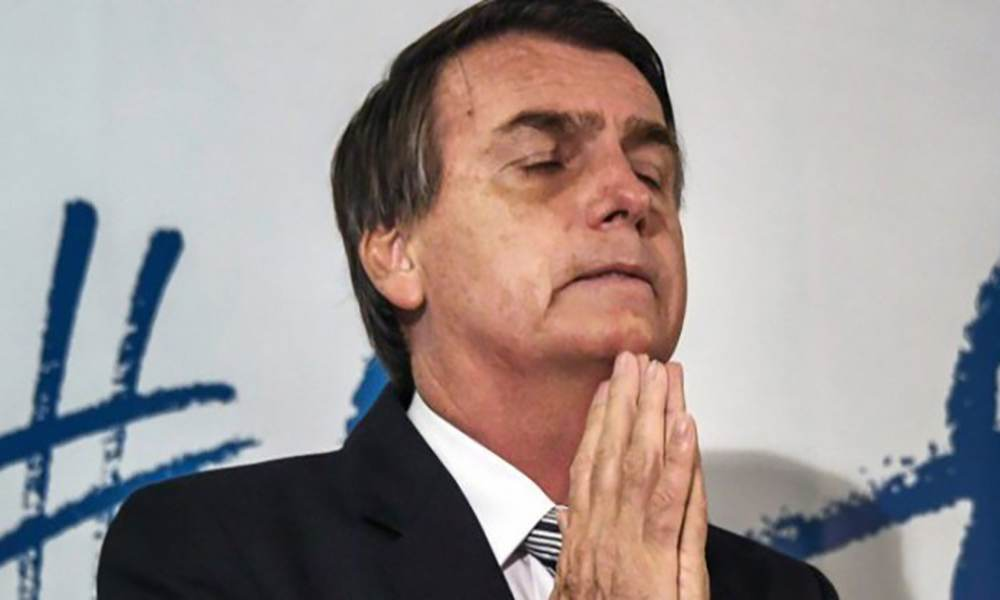 Jair Bolsonaro insta a creer en  Dios y a seguir trabajando para enfrentar la pandemia
