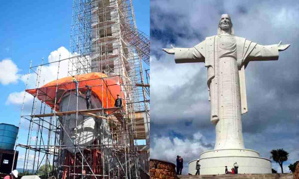 Brasil erige estatua gigantesca de Cristo mientras variante P1 de Covid-19 es más peligrosa