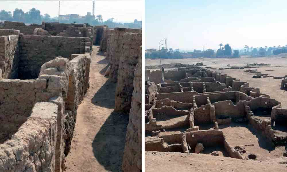 Egipto: hallan ciudad perdida de más de 3.000 años en medio de dos templos