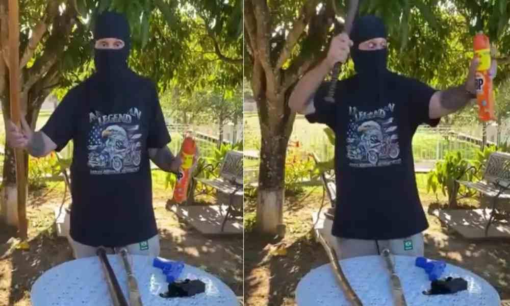 "Ex diputado insta usar ""kit anti-Satanás"", si intentan cerrar iglesias"