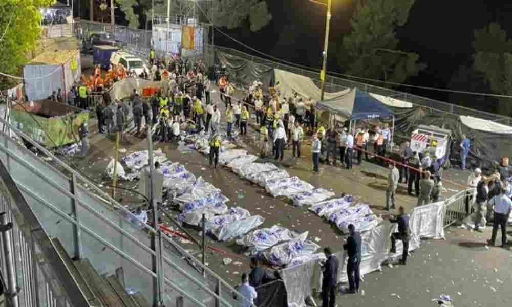 Fiesta judía termina en tragedia con decenas de muertos en Israel