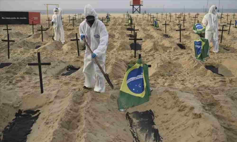 Oración por Brasil: Variante P1 de coronavirus muta y se vuelve más peligrosa