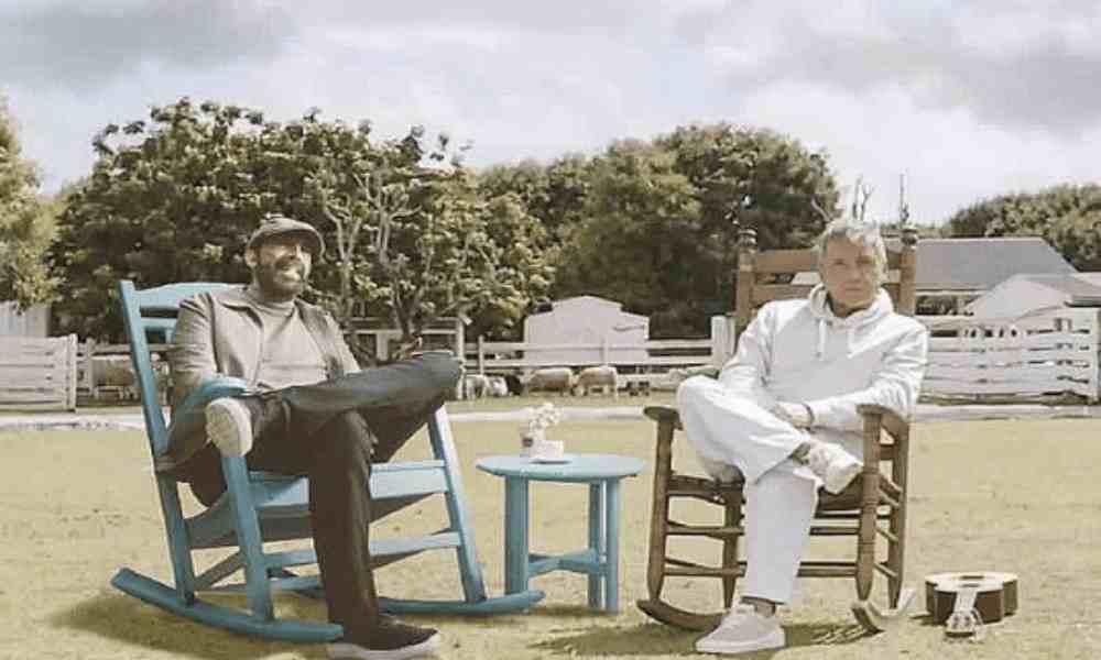 """Ricardo Montaner y Juan Luis Guerra cantan """"Dios así lo quiso"""""""