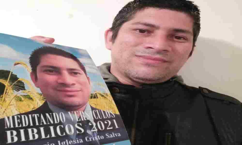 """Escritor David García: """"Dios me dirige en cada libro, él es quien escribe por mí"""""""