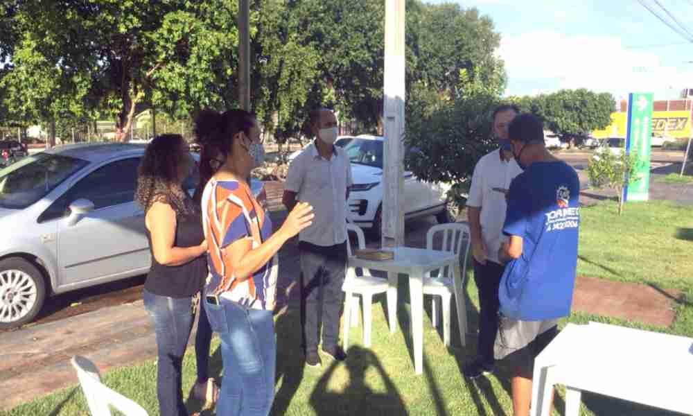 Brasil: crean carpas de oración para apoyar a los afectados por Covid-19