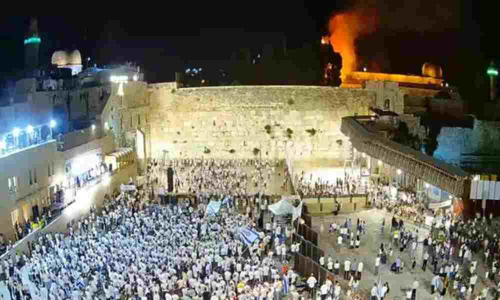 Fuego en Monte del Templo es relacionado con profecía de Zacarías y Tercer Templo
