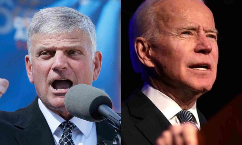 Graham reacciona a la falta de Dios en el discurso de Biden el Día Nacional de la oración