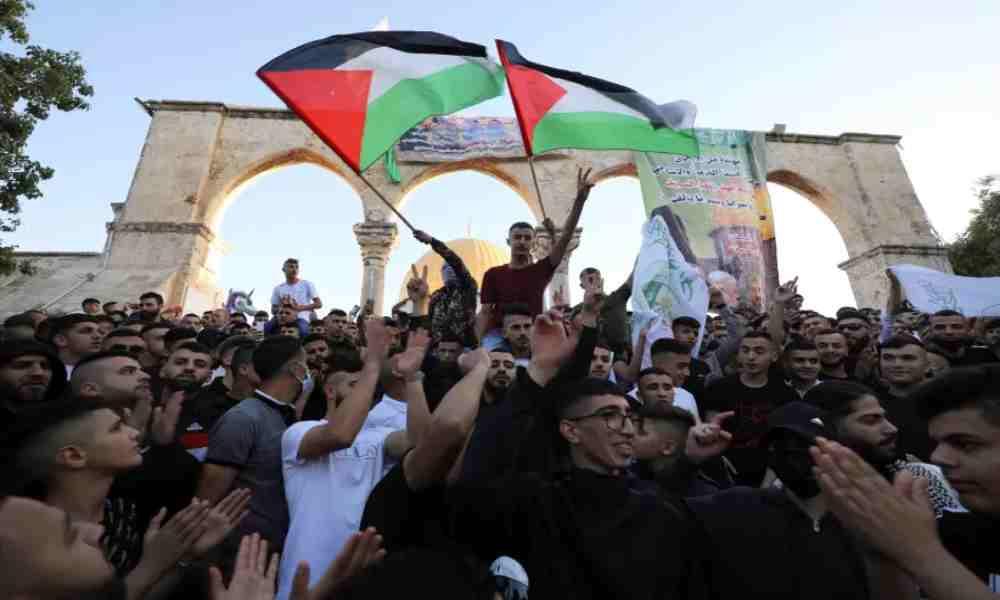 Israel: Miles de palestinos exaltan a terroristas de Hamas en Monte del Templo