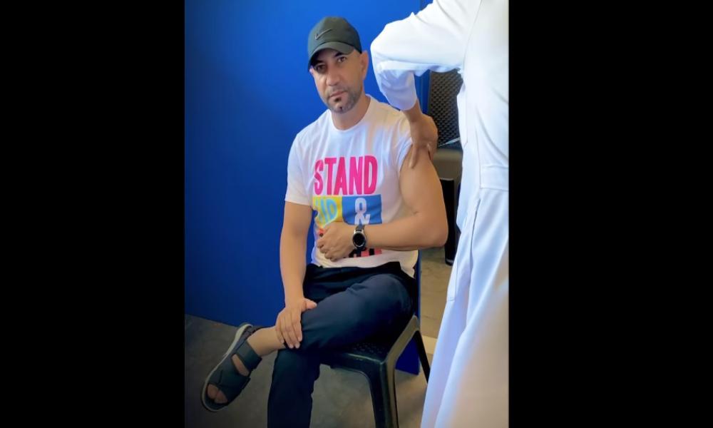 """Marcos Yaroide se inmuniza: """"Me puse la vacuna porque no es ningún sello de la bestia"""""""