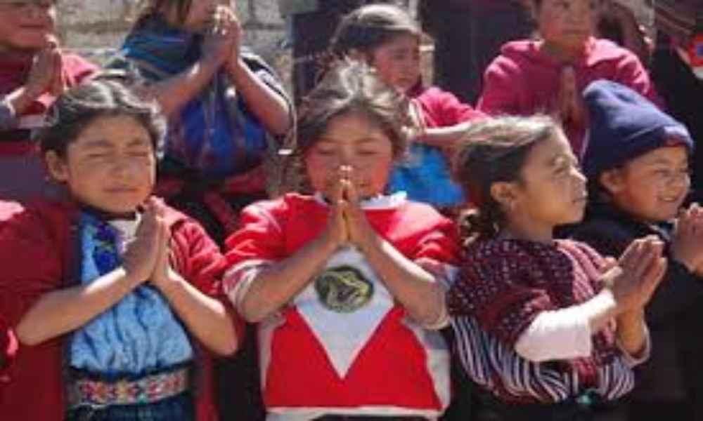 Más de 20 niños fueron evangelizados por misioneros en las selvas de Perú