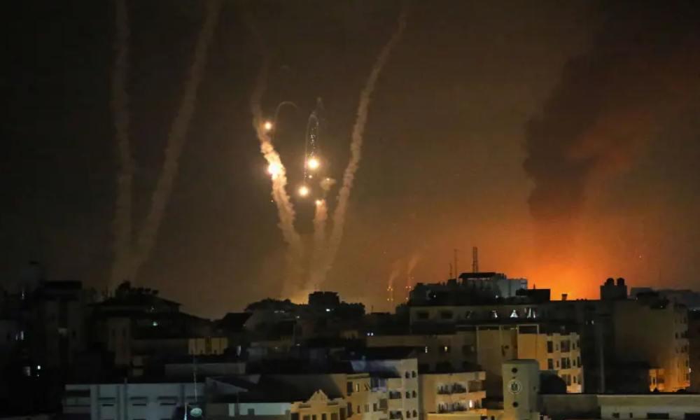 Más de 2.900 cohetes fueron disparados contra Israel, 10 israelíes han muerto
