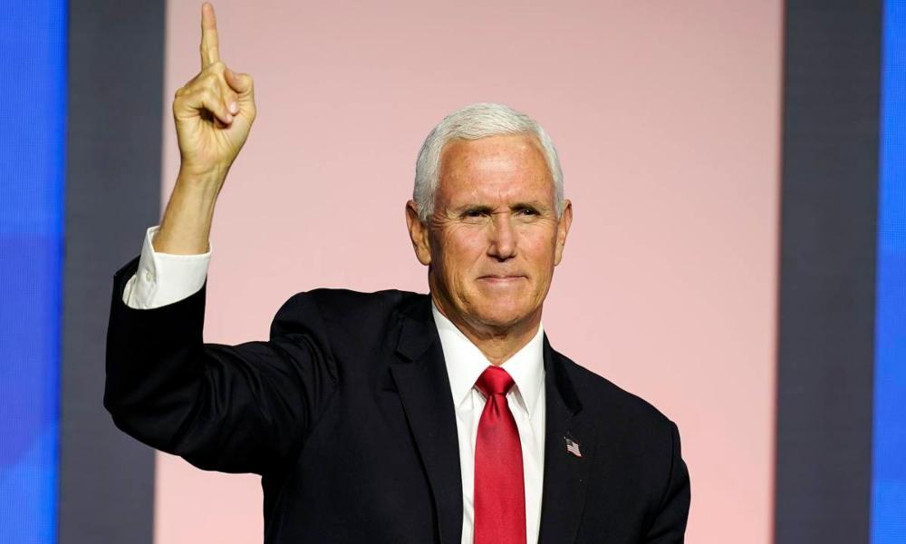 """Mike Pence afirma: """"Dios aún no ha terminado con Estados Unidos"""""""