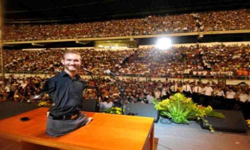 Nick Vujicic quiere alcanzar mil millones de personas para Cristo en 2028