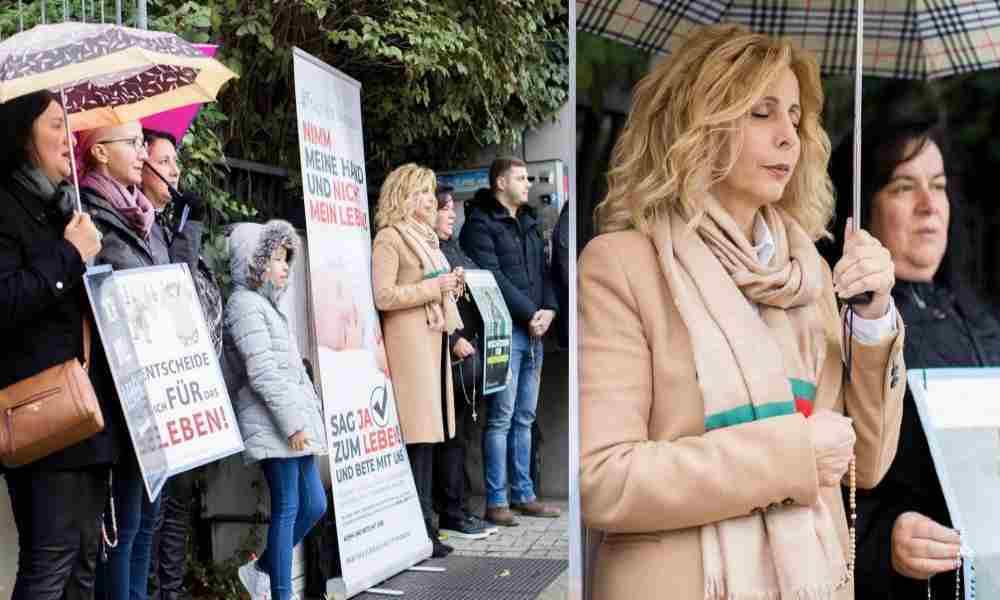 Prohíben a grupo pro-vida orar frente a una clínica de abortos en Alemania