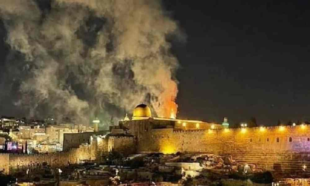Rabino: Fuego en Monte del Templo muestra que la venida del Mesías es inminente