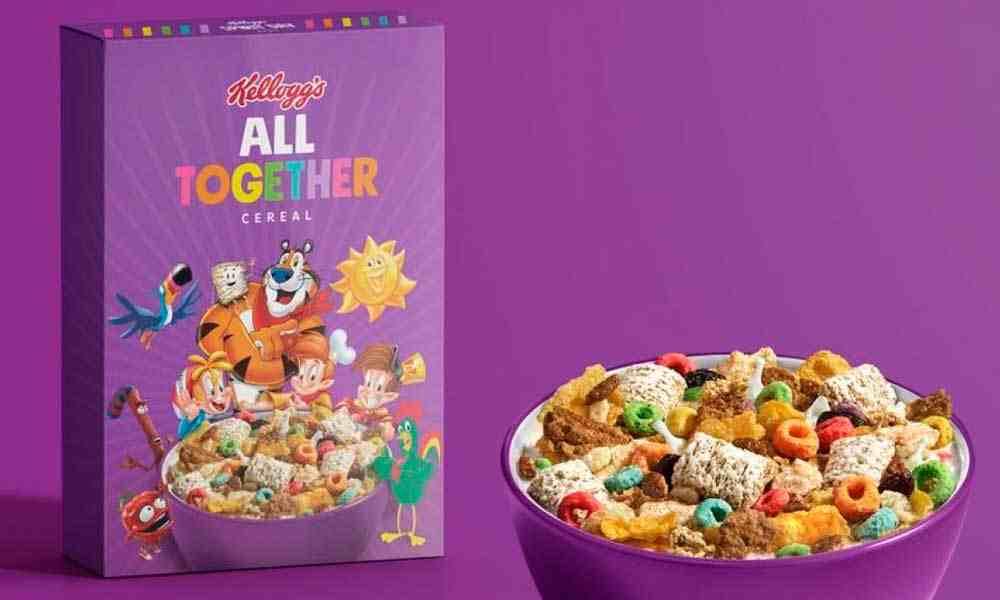La marca Kellogg's presenta cereal con temática LGBT