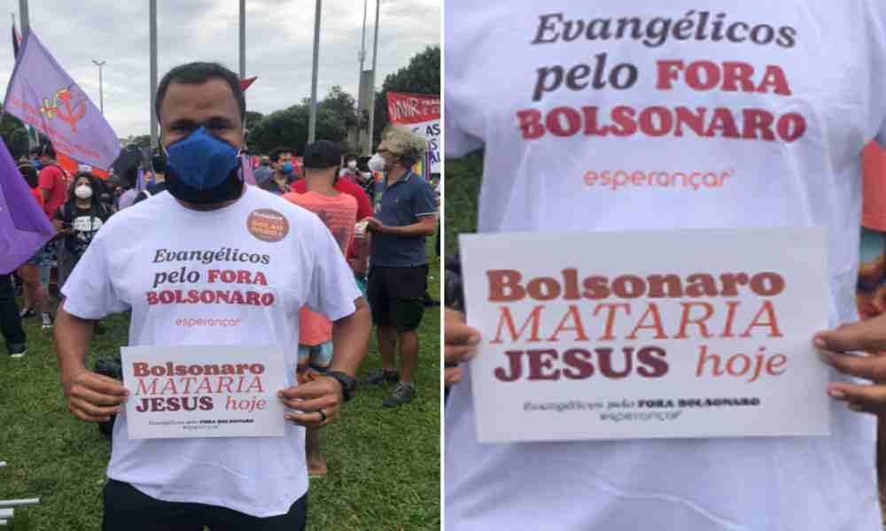 """Autodenominado pastor dice que """"Bolsonaro mataría a Jesús hoy"""""""